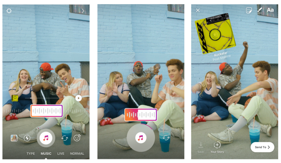 Instagram will now allow users to share soundtracks through Stories