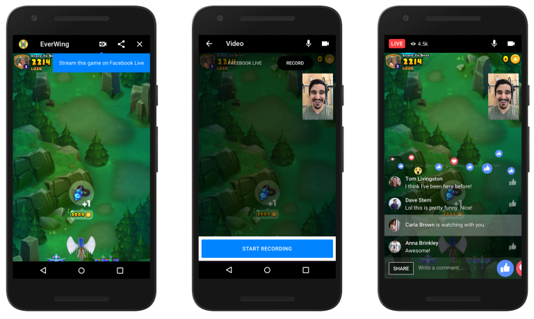Facebook introduces Live Games Streaming feature for Messenger