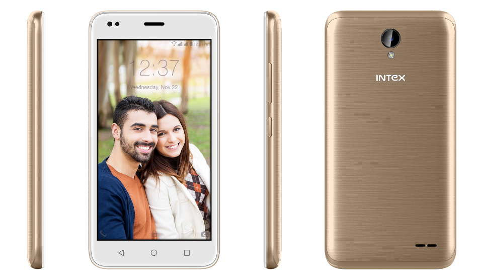 Intex launches Aqua Lions T1 Lite with 4G VoLTE support, Android Nougat for Rs 3,899