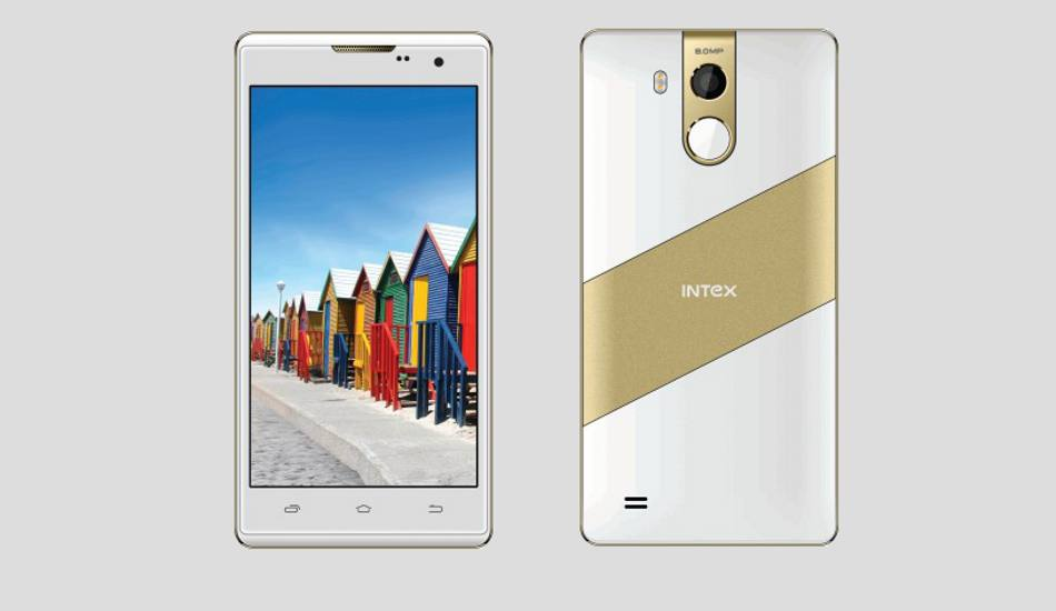 Intex Cloud String HD with 4G VoLTE, fingerprint scanner launched at Rs 5,599