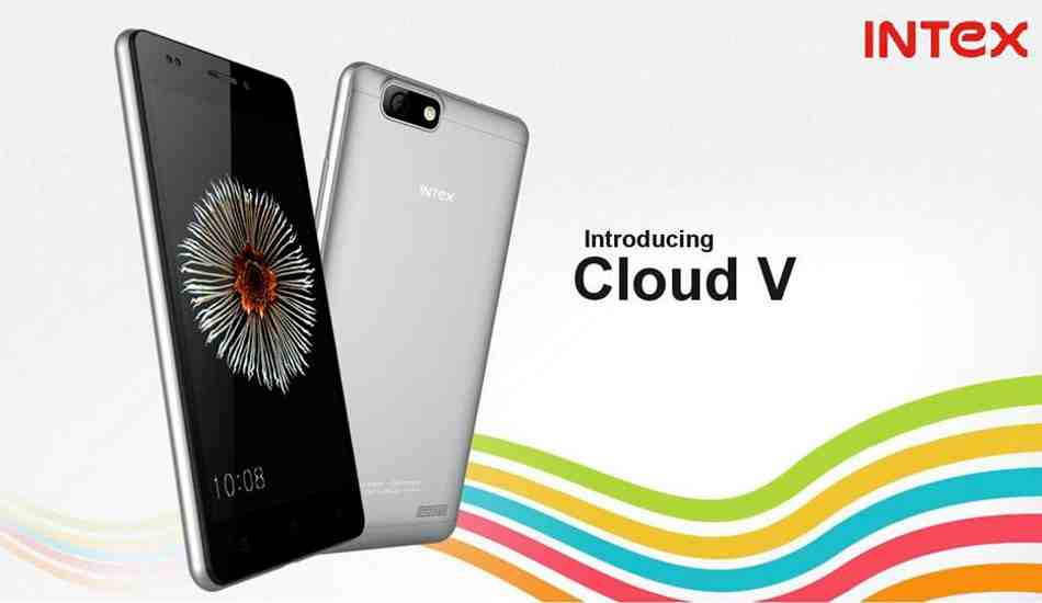 Intex Cloud V smartphone goes on sale for Rs 3,999