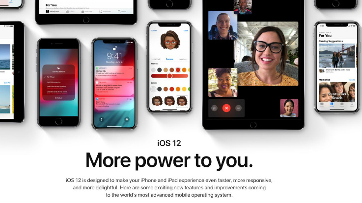 Apple iOS 12 with shared AR experiences, Group FaceTime, Memoji and more announced