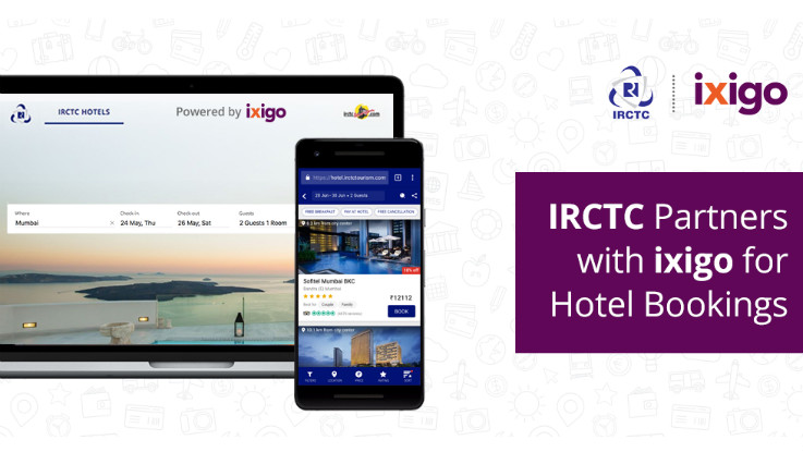 IRCTC partners with ixigo for hotel bookings in India