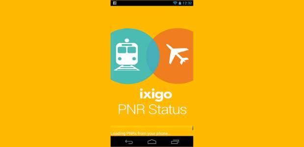 ixigo PNR status Android app launched