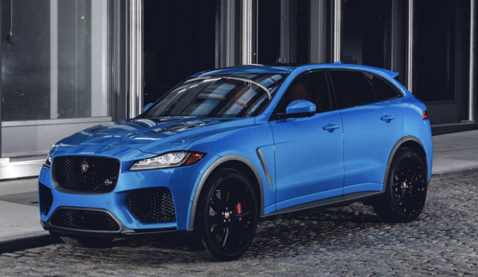 Jaguar F-Pace SVR launched at New York Auto Show 2018
