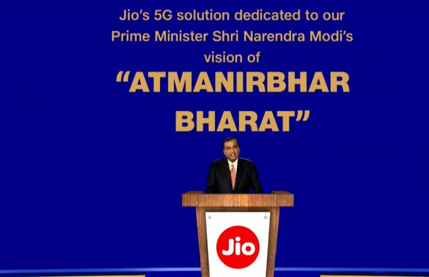 Reliance Jio introduces Made in India 5G network solution, ready for trials