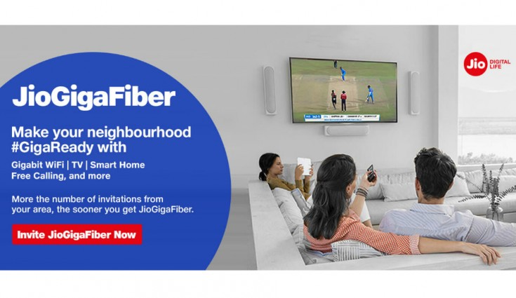 Jio GigaFiber to introduce entry-level service with Rs 2,500 security deposit