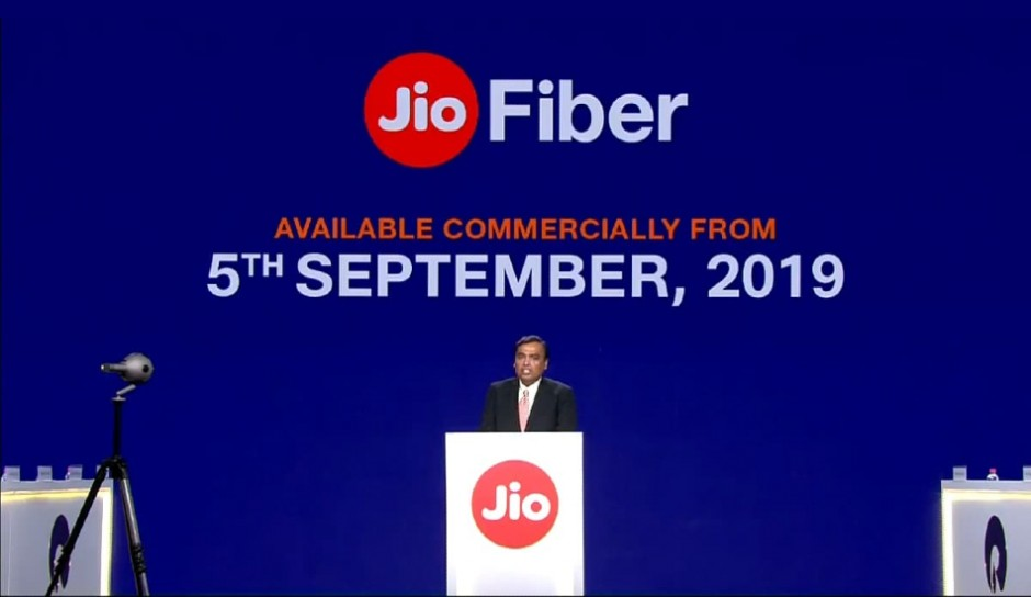 Jio Fiber commercial rollout begins tomorrow, here are benefits for customers