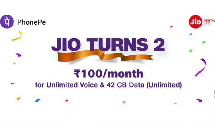Reliance Jio offers Rs 100 cashback on recharge of Rs 399