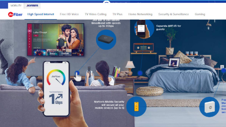 Reliance Jio Fiber brings Hotstar, Voot and more, offers 10 percent cashback