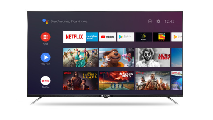 Kodak CA series of Android-certified Smart TVs launched in India