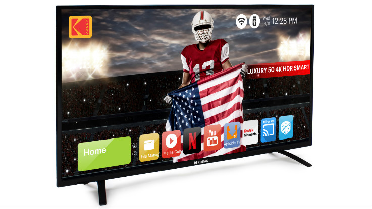 Kodak 50-inch 4K UHD Smart TV launched in India at Rs 34,999