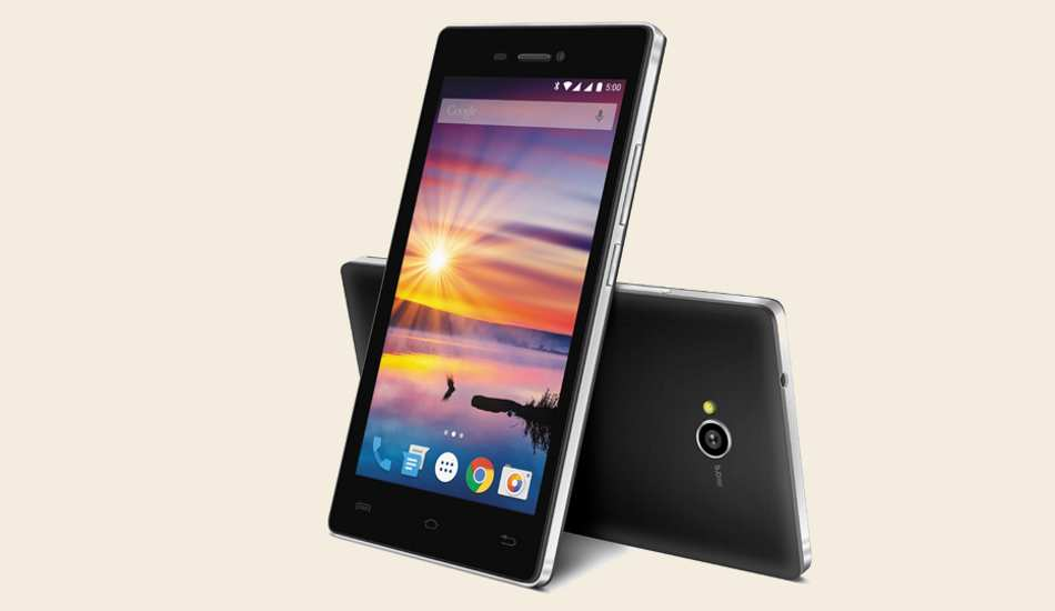 Lava Flair Z1 with Android 5, 1 GB RAM, quad core CPU launched at Rs 5,699
