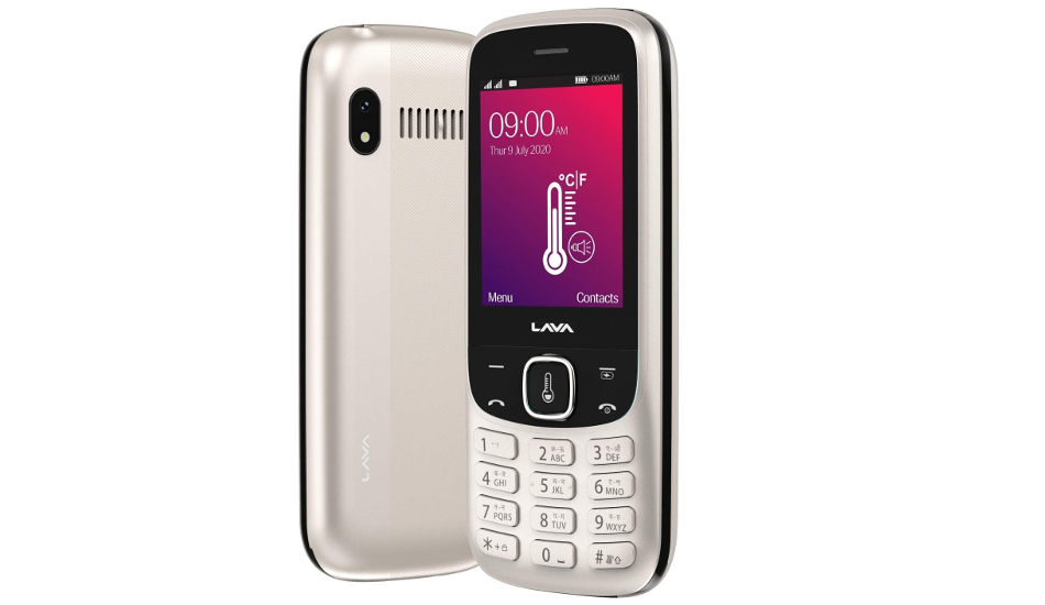 Lava Pulse 1 feature phone with contactless thermometer launched for Rs 1,999