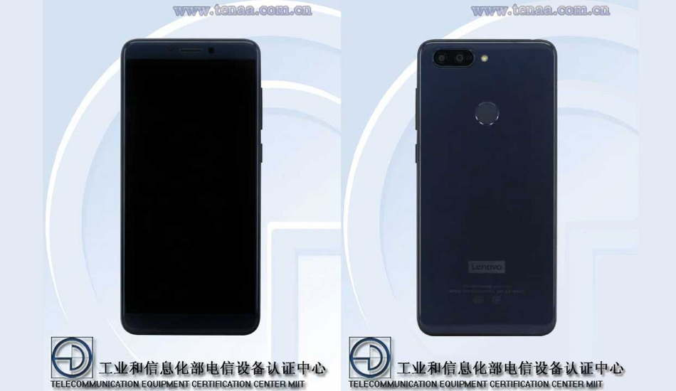 Lenovo K350t with 5.72-inch HD+ display and dual cameras spotted on TENAA