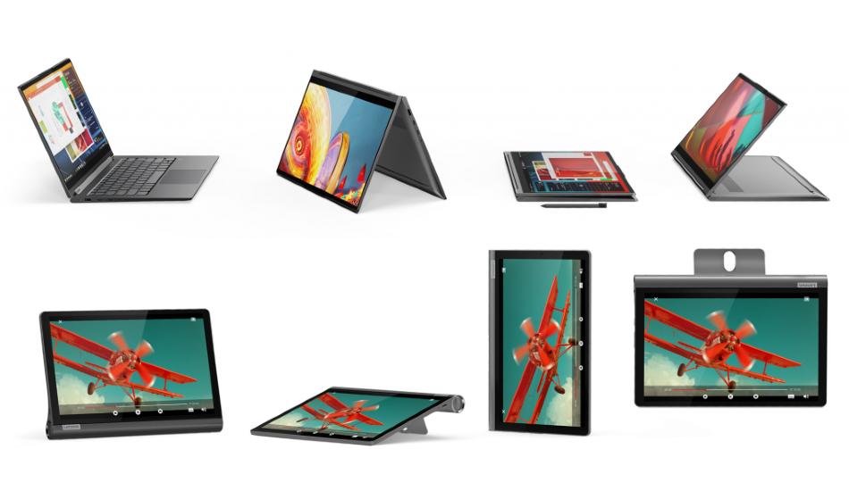 IFA 2019: Lenovo launches ThinkBook, Yoga notebooks, Monitors, Tablets, Smart display 7