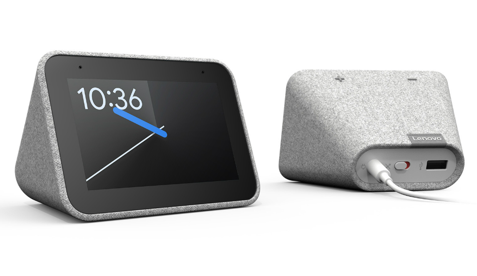 CES 2019: Lenovo Smart Clock with the Google Assistant unveiled