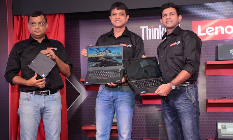 Lenovo launches  2017 Think lineup in India