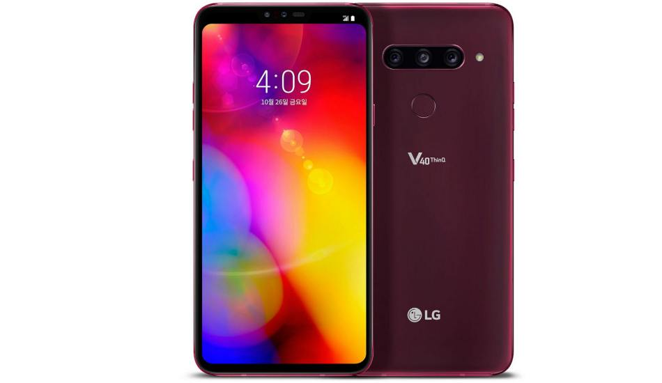 LG V40 ThinQ goes official with five cameras and a 6.4 inch QHD+ OLED display