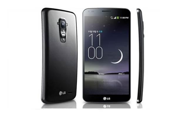 LG unveils G Flex with curved display, 2 GB RAM