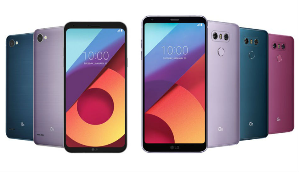 LG introduces Moroccon Blue, Lavender Violet and more colour options for G6 and Q6