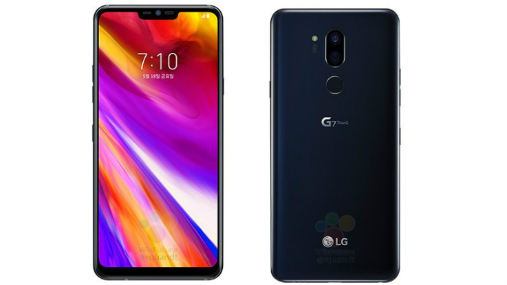 LG G7 ThinQ official renders and specs leaked ahead of May 2 launch