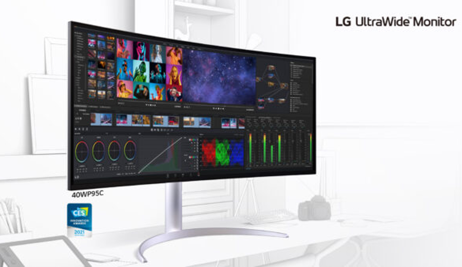 CES 2021: LG unveils UltraGear Gaming Monitors, LG UltraWide Monitor and more
