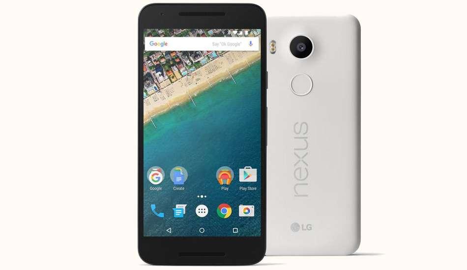 LG Nexus 5X price slashed by Rs 4,991