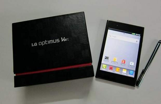 LG Optimus Vu coming to India on 22 October