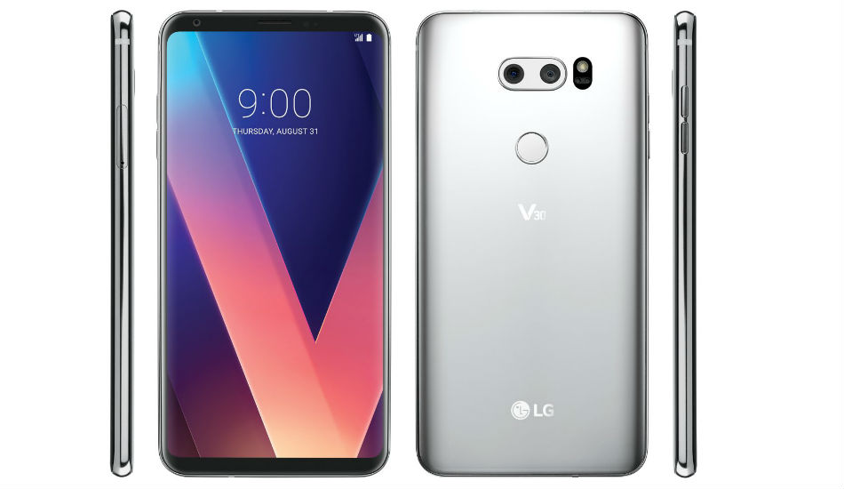 LG to unveil an upgraded version of V30 with AI functions at MWC 2018