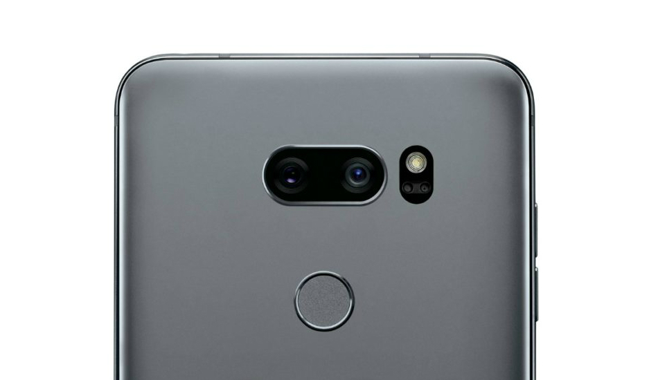 LG V35 ThinQ smiles for the camera for the first time