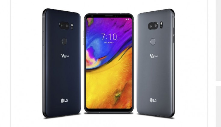 LG V35 ThinQ Android 9.0 Pie update starts rolling out
