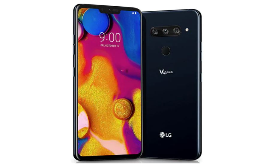LG V40 ThinQ gets a new update in India with VoWiFi, Digital Wellbeing and more