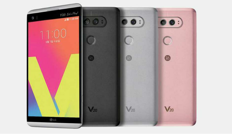 LG V20 finally receiving Android 8.0 Oreo update
