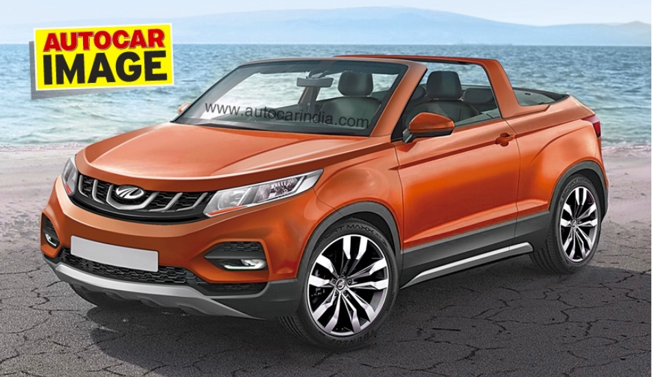 Mahindra will unveil  convertible SUV concept at the Auto Expo 2018