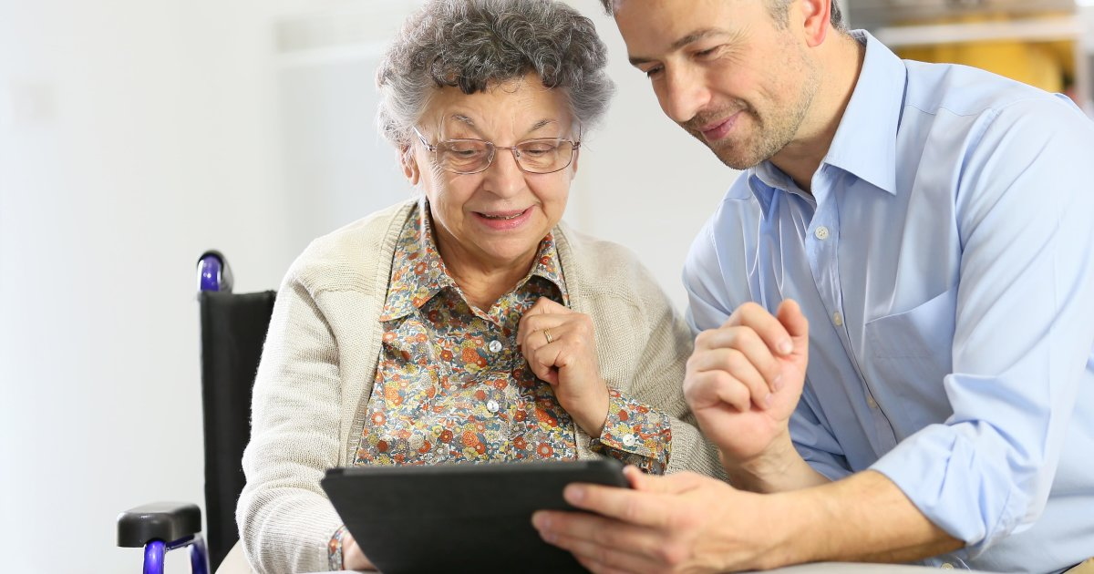How to help your elders with technology?