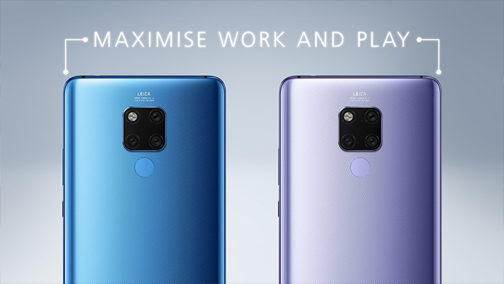 Huawei Mate 20 X with 7.2-inch QHD+ display, Huawei Watch GT and Band 3 Pro announced