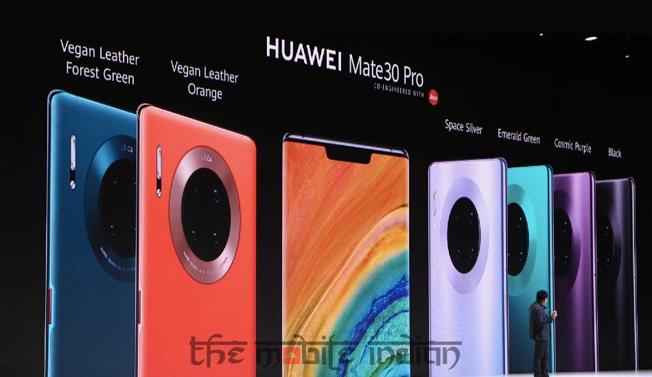 Huawei Mate 30 Pro with 3D 'Horizon' Display, Mate 30 with Kirin 990 5G SoC announced