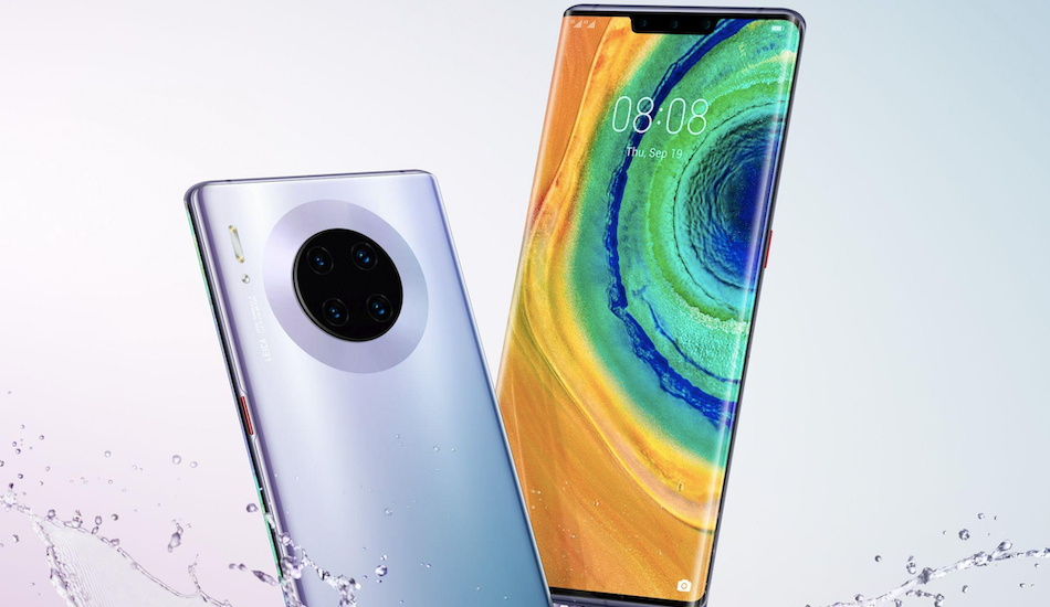 Huawei Mate 30 Pro, Mate 30 RS Porsche Design with triple front cameras official-like renders leaked