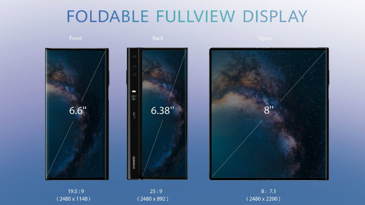 Huawei Mate X foldable 5G smartphone gets listed on Huawei mall