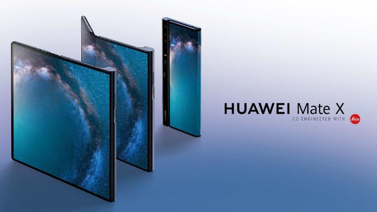 MWC 2019: Huawei Mate X 5G foldable smartphone announced