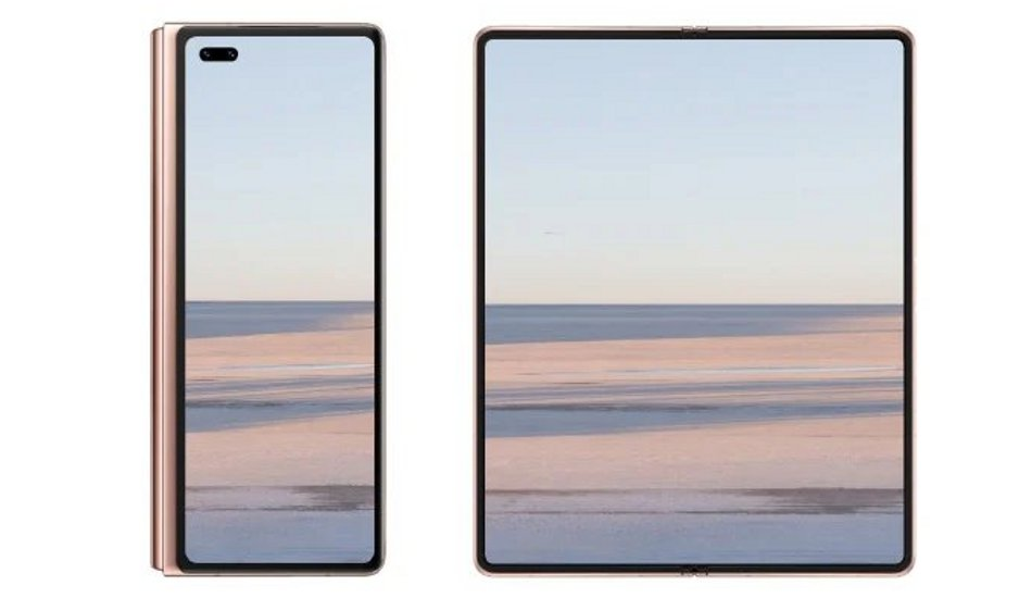 Huawei Mate X2 teased with in-folding design ahead of launch