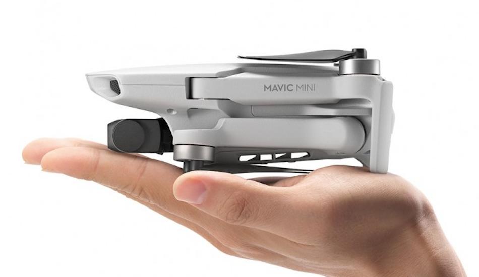 DJI Mavic Mini foldable drone announced