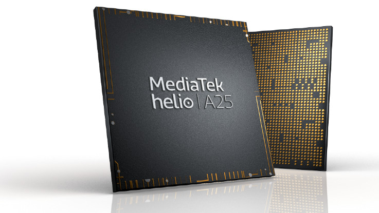 MediaTek Helio A25 chipset for entry-level smartphones launched