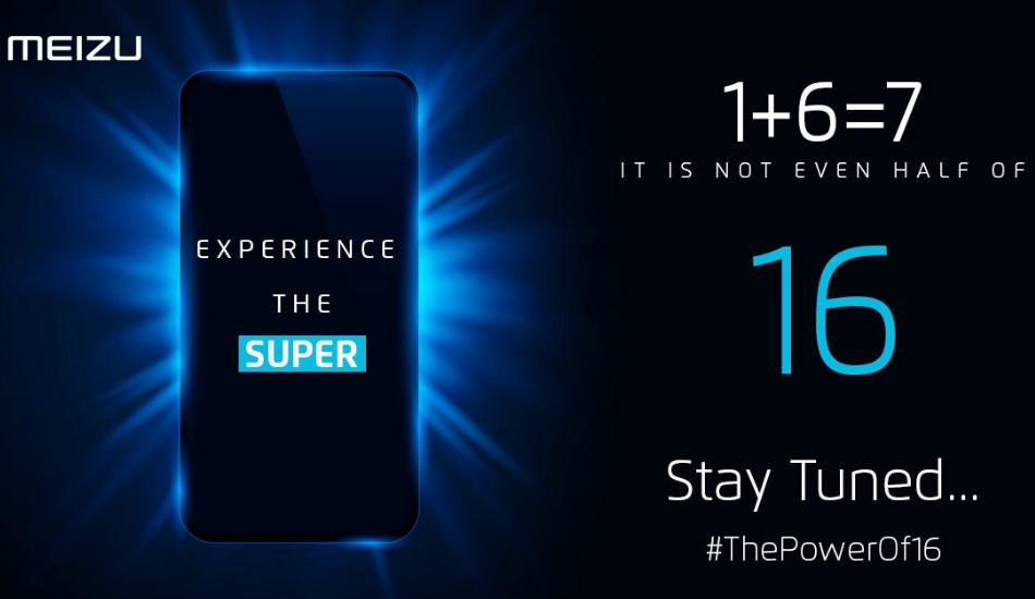 Meizu starts teasing its 16-series smartphone launch in India