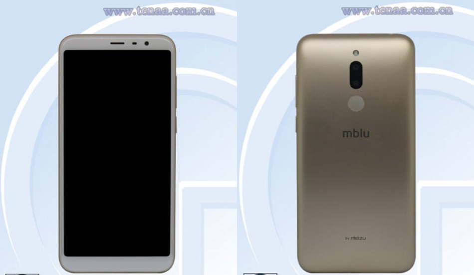 Meizu M811Q receives TENAA certification with 5.7-inch HD+ display and dual rear cameras