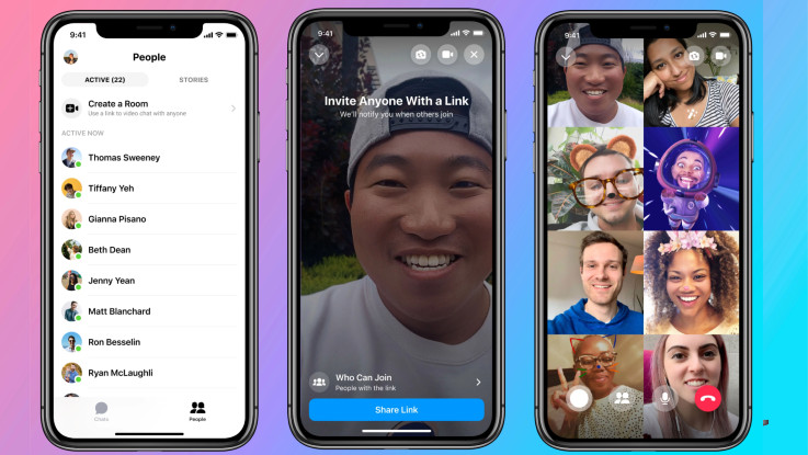 Facebook Messenger Rooms announced, will allow up to 50 participants