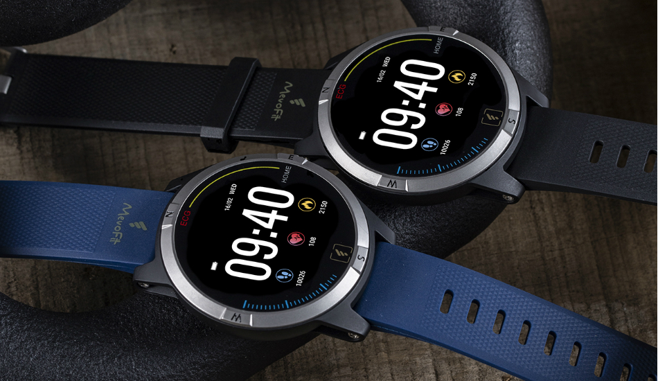 MevoFit Thrust fitness watch with ECG launched in India for Rs 9,990