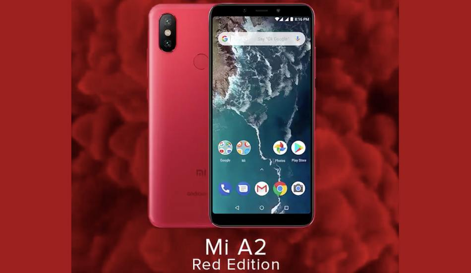 Xiaomi Mi A2 Red colour variant launched in India, to be available on Amazon starting tomorrow