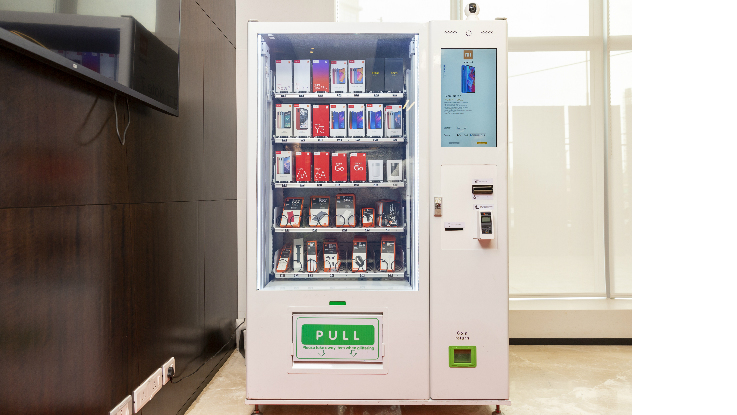 Xiaomi smartphones through vending machine becomes a reality